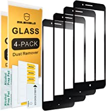 [4-Pack]-Mr.Shield for ZTEBladeZMax [Full Cover] Screen Protector with Lifetime Replacement