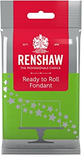 Ready to Roll Fondant Icing Bright Green 8.8 Ounces by Renshaw
