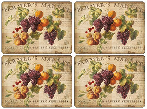 Pimpernel Abundant Fall Collection Placemats - Set of 4