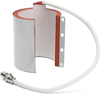 ACAMPTAR 11Oz Varios Accesorios de Taza para MáQuina de Prensa por Calor de SublimacióN de Transferencia de Acero Inoxidable