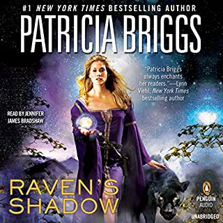 Raven's Shadow audiobook cover art