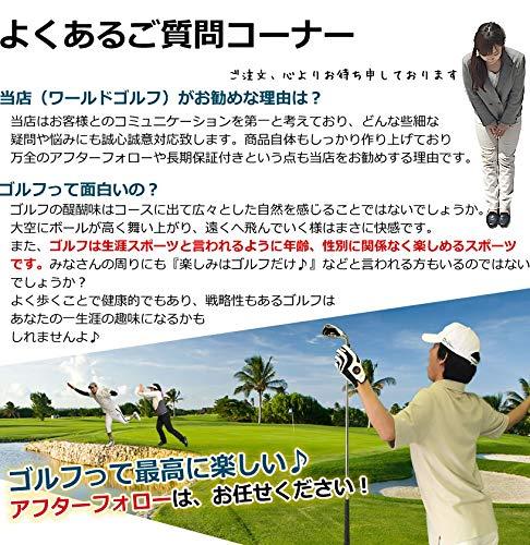 ワールドゴルフワールドイーグル『メンズ13点ゴルフクラブフルセット(F-01α)(12728-12729)』