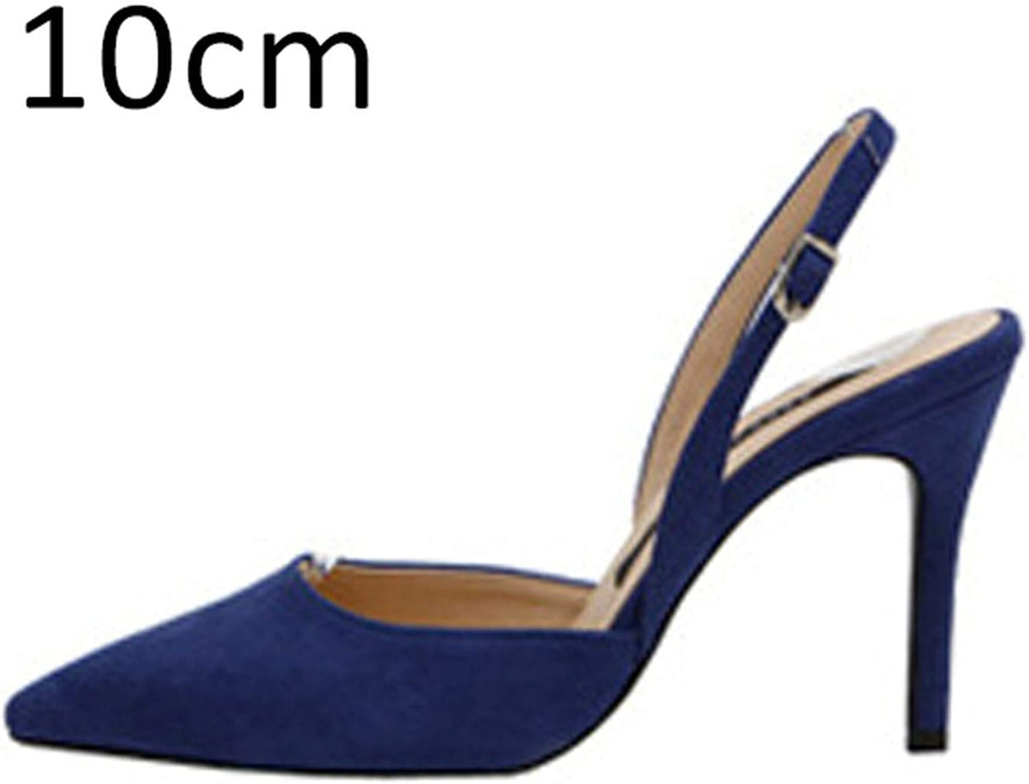 DATAIYANG Women Pumps Sexy Summer shoes High Heels Party Slingback Pointed Toe Dress shoes