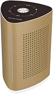 Promate Cyclone Portable Wireless Speaker With Mic - Gold