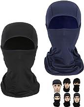 Chruikar 2 PCS Camouflage Face Mask Summer Fishing Balaclava Washable Mask Cycling Shield Bandana Reusable Neck Gaiter