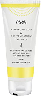 Globus Anti-Ageing Face Wash with Hyluronic Acid and Vitamin C 100 ml