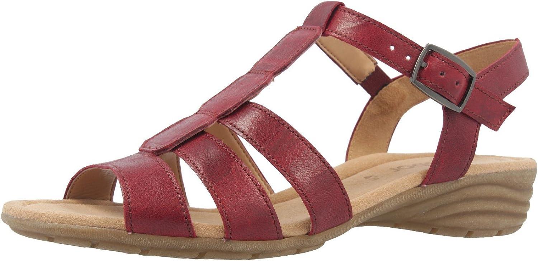 Gabor Gabor Gabor Sandaletten in Übergrößen Rot 64.558.55 große Damenschuhe  96b15f