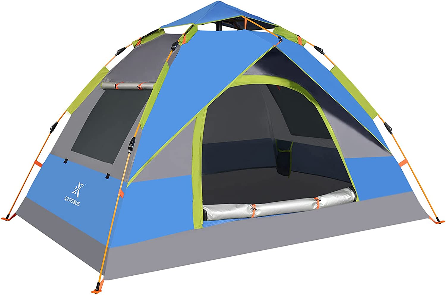 Extremus Mission Mountain Instant Pop-Up Beauty products Camping Tucson Mall Tent 2 6 Per 4
