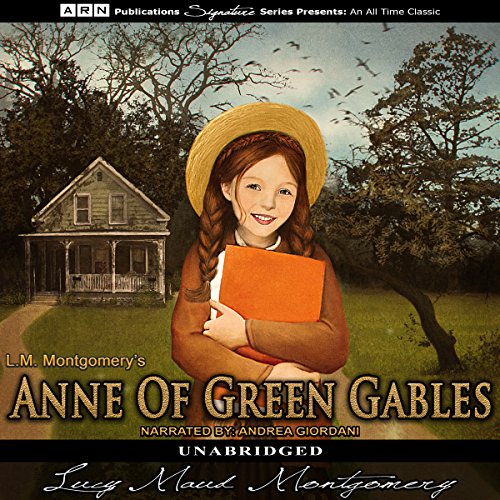 Anne of Green Gables                   By:                                                                                                                                 Lucy Maude Montgomery                               Narrated by:                                                                                                                                 Andrea Giordani                      Length: 10 hrs and 45 mins     93 ratings     Overall 3.8