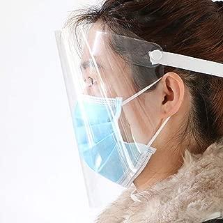 Anti Gocce Polvere Protezione Protezione Visiera Shield Anti-appannamento Splash Trasparente Conico FANTESI Visiera Protettiva Visiera Protettiva Visiera