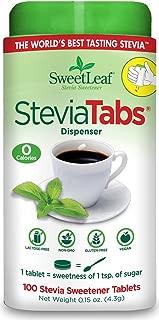 SweetLeaf Stevia Tablets, 100 Count (Pack of 6)