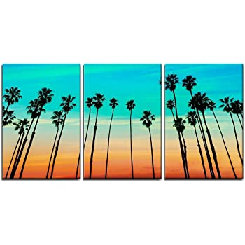 Amazon Com Art Wall The Beach At Santa Barbara Gallery Wrapped Canvas Artwork By Steve Ainsworth 24 By 32 Inch Oil Paintings Posters Prints
