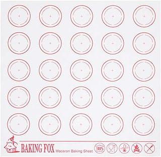 Tapis de cuisson réutilisable en fibre de verre résistant à la chaleur pour macarons