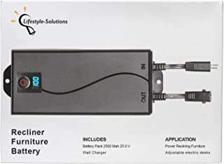 Battery for Power Recliner - Power Supply Electric Motion...