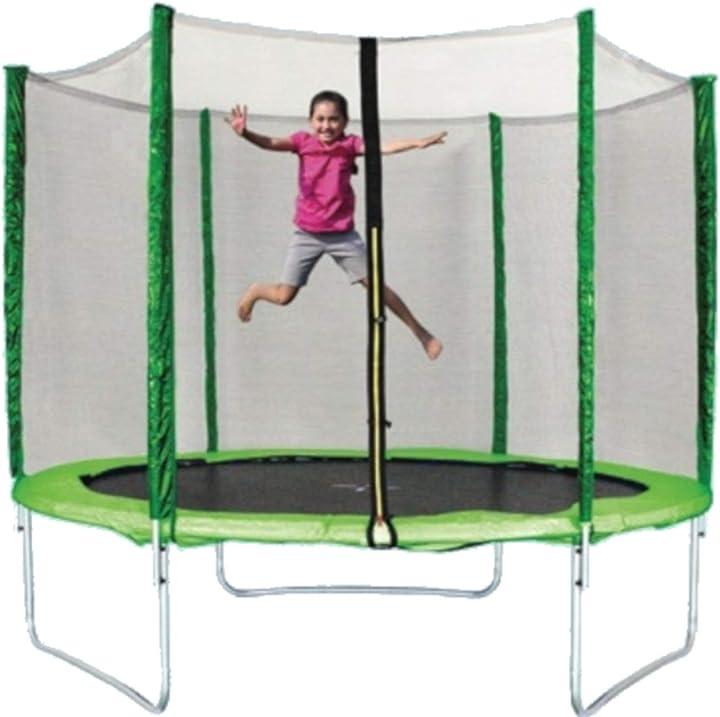Trampolino elastico jumpy Ø 244 cm B01H0JA4MM