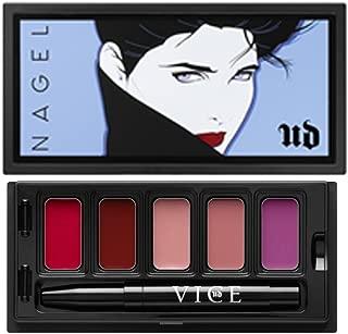 UD Urban NAGEL Vice Lipstick Limited Edition UNTITLED Palette: Doubt + Gash + Naked + Backtalk + Exhibition