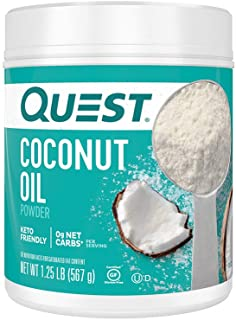 Quest Nutrition Coconut Oil Powder, 20 Ounce (Pack of 1)
