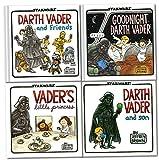 Darth Vader Collection 4 Books Set (Star Wars) (Darth Vader and Son, darth vader and friends, Goodnight Darth Vader, Vader Little Princess