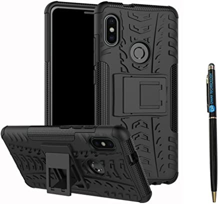 Redmi Note 5 Pro Cover Hybrid DWaybox Rugged Heavy Duty Armor Hard Back Cover Case with