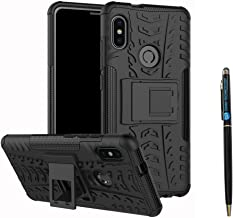 Redmi Note 5 Pro Cover Hybrid DWaybox Rugged Heavy Duty Armor Hard Back Cover Case with Kickstand for Xiaomi Redmi Note 5 Pro/Redmi Note 5 5.99 Inch (Black)