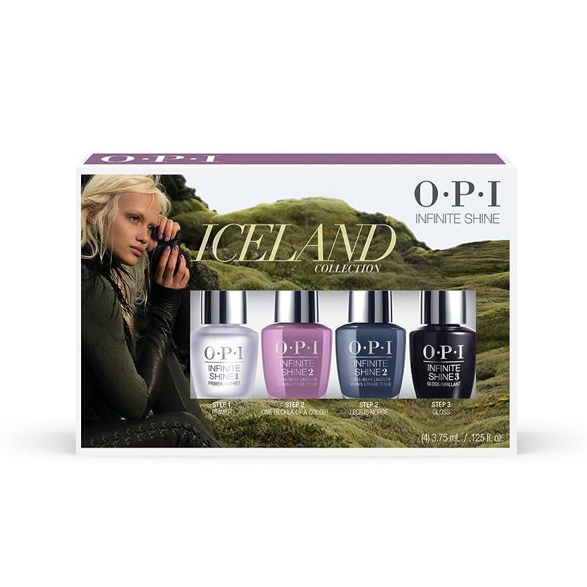 上げるナチュラル石膏OPI(オーピーアイ) アイスランド コレクション インフィニット シャイン ミニパック