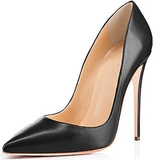 EDEFS - Scarpe da Donna - Scarpe col Tacco - Classiche Scarpe col Tacco - Elegante Partito Pumps