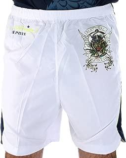 Bulldog Woven Shorts - White