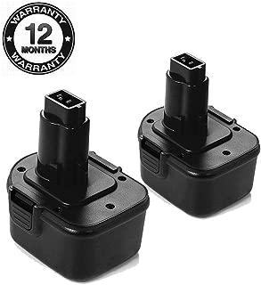 Best replacement battery dewalt 12 volt drill Reviews