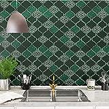 XIAOLIN Cucina Backsplash Wallpaper Impermeabile Impermeabile Adesivo Impermeabile Autoadesivo Isolamento Termico Isolamento Di Calore Stick E Buccia Rimovibile Per Cucinare Umidità-prova, 2(Color:02)