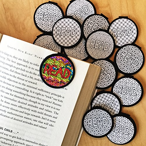 DIY Color Your OWN Bookmarks - 36 Bulk Bookmarks for Kids Girl's Boys- School Student Incentives – Library incentives – Reading Incentives - Party Favor Prizes - Classroom Reading Awards!