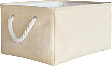 unband Storage Bins,Rectangular Fabric Storage Bin,Storage Bins with Handles,Collapsible Storage Bin for Kids Toy,Clothes ...