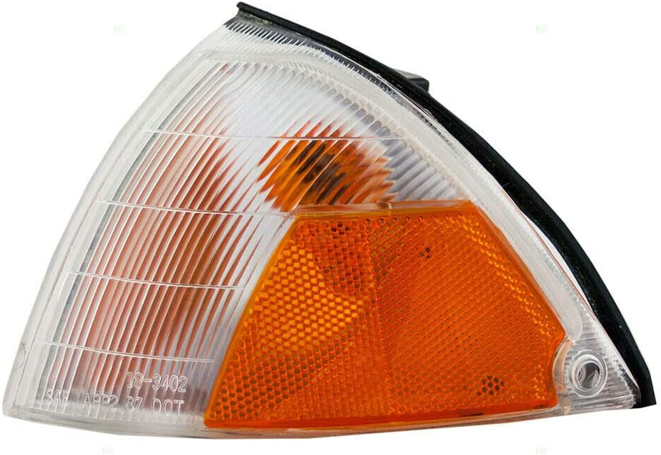 Chicago Mall Drivers Signal Side Max 67% OFF Marker Light Lamp Lens for DOT 89-9 Assembly