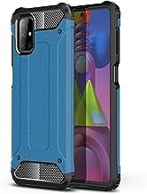 UKDANDANWEI Capa para Samsung Galaxy M51, Capa protetora híbrida robusta de camada dupla à prova de choque Capa protetora ...
