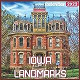 Iowa Landmarks Calendar 2022: Official Iowa Calendar 2022, 18 Month Photo of Iowa Travel calendar 2022, Mini Calendar