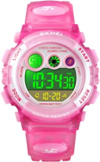 Kids Digital Sport Watch for Boys Girls, Kid Waterproof...
