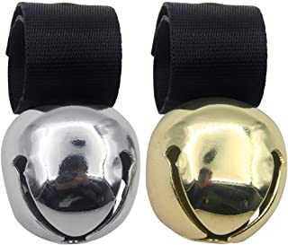 SCENEREAL Large Dog Collar Bell for Training, Hiking, Walking, Hunting(Bear Bell, Cow Bell)