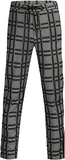 Amazon.es: Pantalones A Cuadros Hombre: Ropa