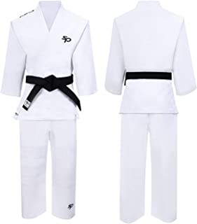 Starpro | Judo Kampfsport Anzug | Geeignet für Jiu Jitsu, BJJ GI, Karate GI, Jui Jitsu, Judo, Aikido Anzug, Taekwondo Anzug, Karate Anzug Baumwolle, Ju Jutsu Anzug, IBJJF, Taekwondo-Anzug
