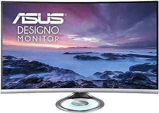 ASUS 华硕 Designo 曲线 34 英寸 UWQHD (3440 x 1440) 100Hz Freesync 显示器MX32VQ  MX32VQ