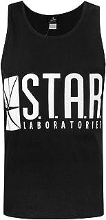 Flash - Camiseta Oficial Modelo TV Star Laboratories para Hombre