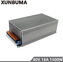 Xunba switching power supply DC 80V 18A 1500w power adapter driver transformer 110V 220V AC DC 80V for Led strip lamp CNC CCTV