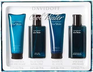 Cool Water by Davidoff 4 Piece Gift Set - Eau de Toilette