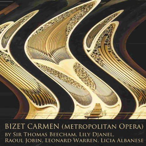 Metropolitan Opera Orchestra, Sir Thomas Beecham, Metropolitan Opera Chorus, Mack Harrell, Licia Albanese, Raoul Jobin, Lorenzo Alvary