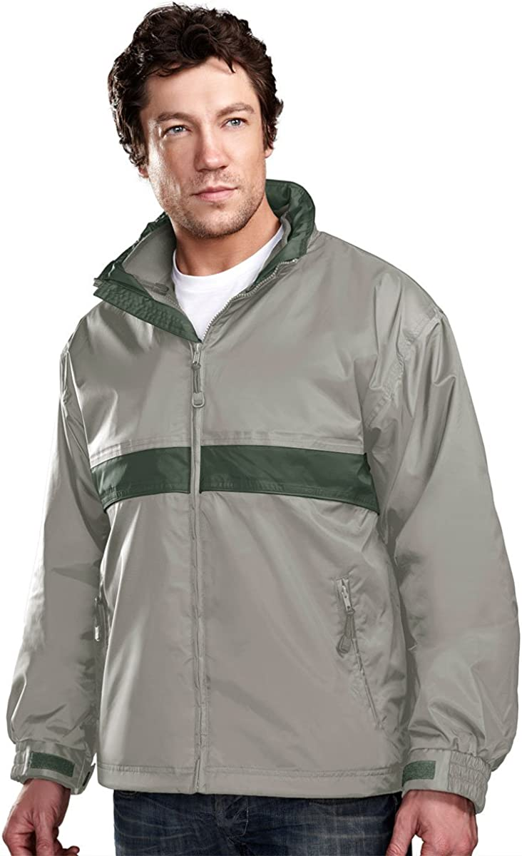 Tri-mountain Mens waterproof nylon 3-in-1 jacket. 7950 - PUTTY / OLIVE_4XL