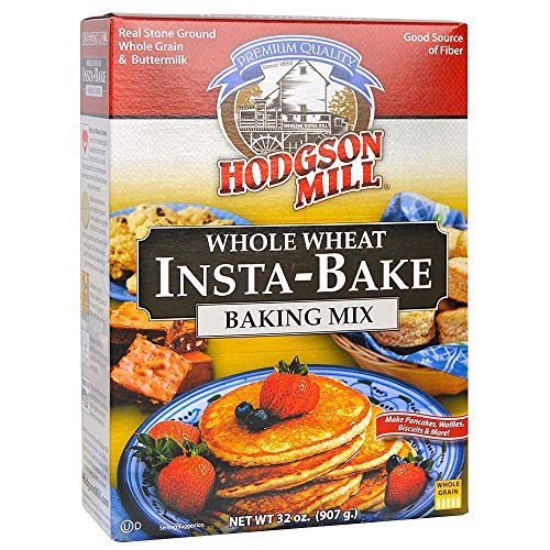 Hodgson MILL Mill Instabake Whole Wheat 32 OZ Pack of 6