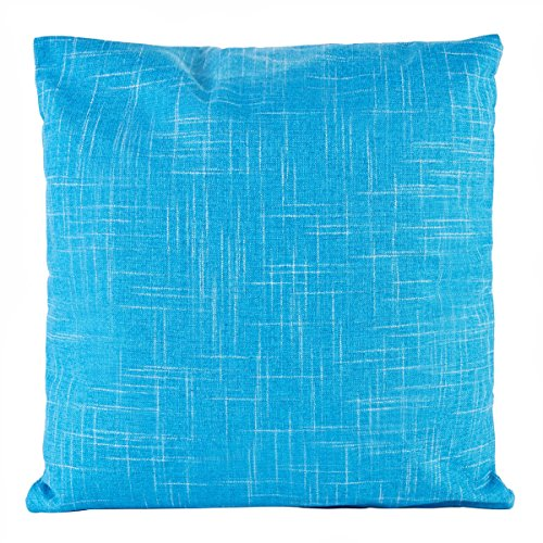 ZXKEE cojines Cover Color sólido decorativos funda cojin Plaza 45x45 cm (Azul claro)