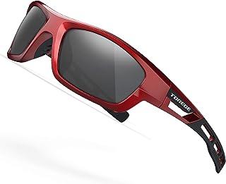 TOREGE Polarized Sports Sunglasses for Man Women Cycling...