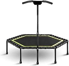HMBB Commerciële trampolines voor volwassen, Gym Oefening Indoor Fitness Rebounder, Max Limit 330 lbs Indoor Trampolines