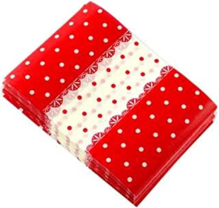 Kylin Express Beautiful Candy Wrappers Candy Greaseproof Paper Twisting Wax Papers, Red Happy