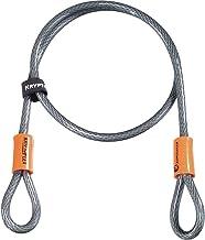 Kryptonite Kryptoflex kabelslot 1,2 meter zilver